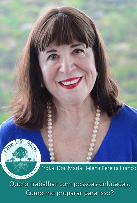 palestra sobre luto com Maria Helena Pereira Franco