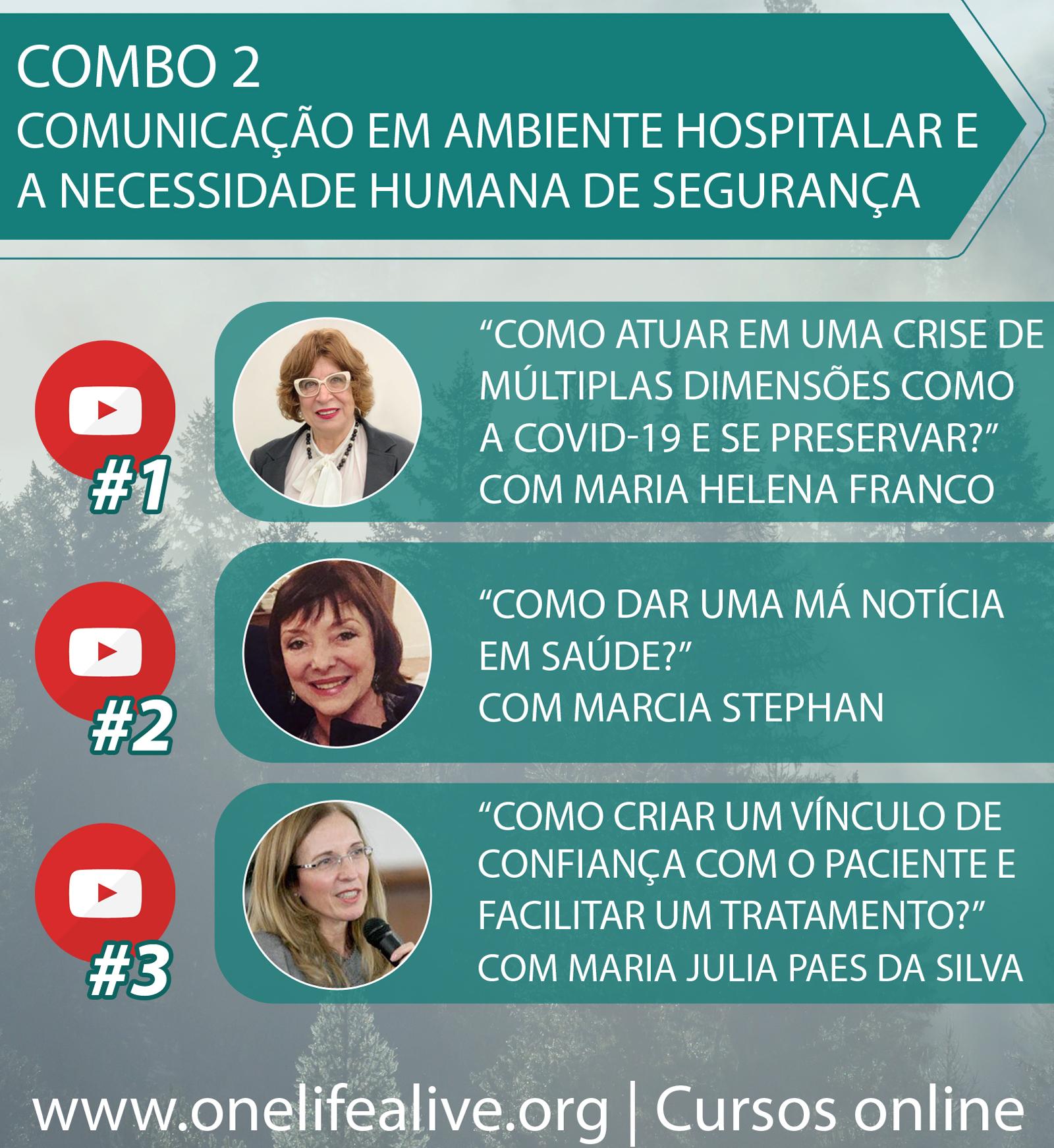 COMBO 2: Comunicação em ambiente hospitalar e a necessidade humana de segurança